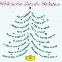 Cover Carreras / Norman / Domingo / Battle / Pavarotti / Te Kanawa / Terfel / Studer / Argerich / Mutter / Abbado / Gardiner / von Karajan - Weihnachts-Gala der Weltstars