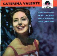 Cover Caterina Valente - Jérémie, voici l'heure