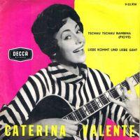 Cover Caterina Valente - Tschau tschau Bambina...!