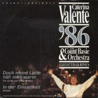 Cover Caterina Valente & The Count Basie Orchestra - Doch meine Liebe hält mich warm