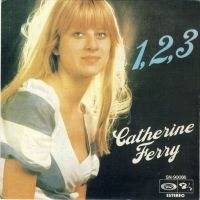 Cover Catherine Ferry - 1, 2, 3