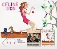 Cover Céline Dion - 1 fille & 4 types + Sans attendre
