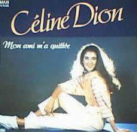 Cover Céline Dion - Mon ami m'a quittée