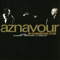 Cover Charles Aznavour - 20 chansons d'or