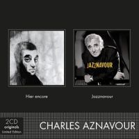 Cover Charles Aznavour - 2cd Originals: Hier encore / Jazznavour