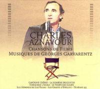 Cover Charles Aznavour - Chansons de films - Musiques de Georges Garvarentz