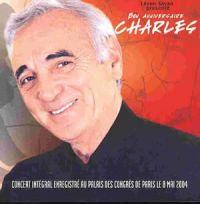 Cover Charles Aznavour - Concert intégral enregistré au Palais des Congrès de Paris le 8 Mai 2004