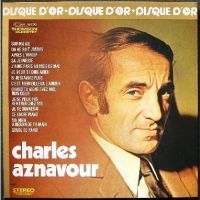 Cover Charles Aznavour - Disque d'or