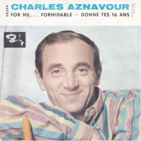Cover Charles Aznavour - For Me... Formidable