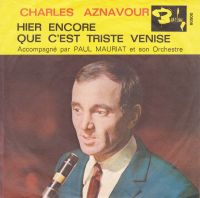 Cover Charles Aznavour - Hier encore