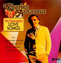Cover Charles Aznavour - His Greatest Love Songs
