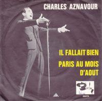 Cover Charles Aznavour - Il fallait bien