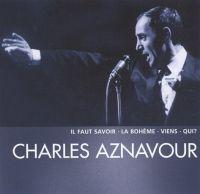Cover Charles Aznavour - Il faut savoir - La bohème - Viens - Qui?
