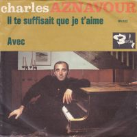 Cover Charles Aznavour - Il te suffisait que je t'aime