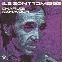 Cover Charles Aznavour - Ils sont tombés