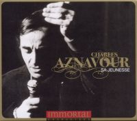 Cover Charles Aznavour - Immortal Characters - Sa jeunesse