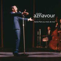 Cover Charles Aznavour - J'aime Paris au moi de mai
