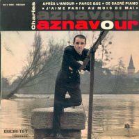 Cover Charles Aznavour - J'aime Paris au mois de mai