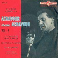 Cover Charles Aznavour - Je t'aime comme ça
