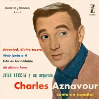 Cover Charles Aznavour - Juventud, divino tesoro