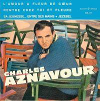 Cover Charles Aznavour - L'amour à fleur de cœur