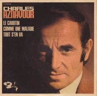 Cover Charles Aznavour - Le cabotin