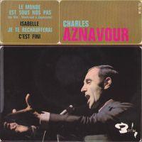 Cover Charles Aznavour - Le monde est sous nos pas
