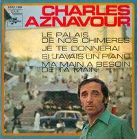 Cover Charles Aznavour - Le palais de nos chimères