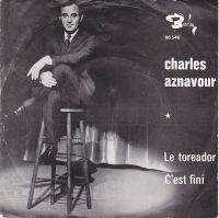 Cover Charles Aznavour - Le toréador
