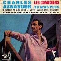 Cover Charles Aznavour - Les comédiens