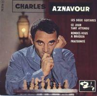 Cover Charles Aznavour - Les deux guitares