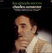 Cover Charles Aznavour - Les grands succes