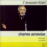 Cover Charles Aznavour - L'essentiel