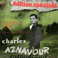Cover Charles Aznavour - Merci mon Dieu