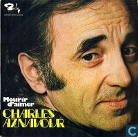 Cover Charles Aznavour - Mourir d'aimer