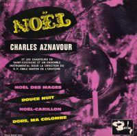 Cover Charles Aznavour - Noël des mages