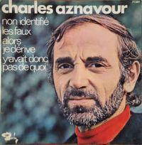 Cover Charles Aznavour - Non identifié