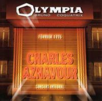 Cover Charles Aznavour - Olympia Bruno Coquatrix - Février 1976