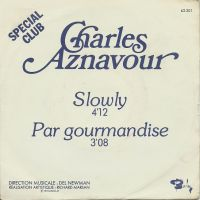 Cover Charles Aznavour - Slowly