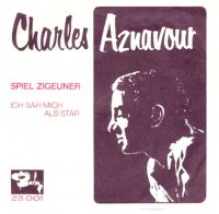 Cover Charles Aznavour - Spiel Zigeuner
