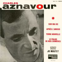 Cover Charles Aznavour - Sur ma vie