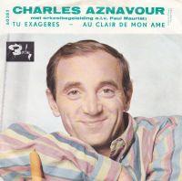 Cover Charles Aznavour - Tu exagères