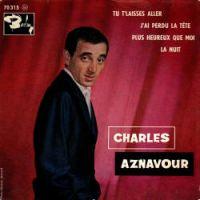 Cover Charles Aznavour - Tu t'laisses aller