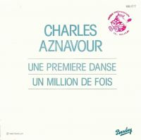 Cover Charles Aznavour - Une première danse