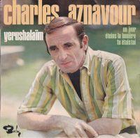 Cover Charles Aznavour - Yerushalaïm