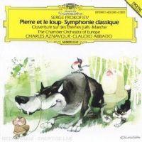 Cover Charles Aznavour / Claudio Abbado - Pierre et le loup - Prokofiev