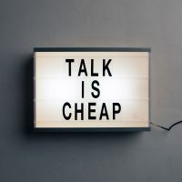 Cover Chet Faker - Talk Is Cheap