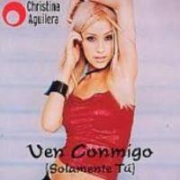 Cover Christina Aguilera - Ven conmigo (solamente tú)