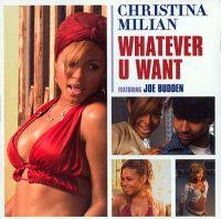 Cover Christina Milian feat. Joe Budden - Whatever U Want
