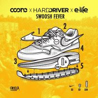 Cover Coone, Hard Driver & E-Life - Swoosh Fever